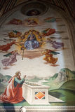 Basilica Santa Croce in Florence. Stock Image