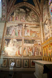 Basilica Santa Croce in Florence. Stock Photography
