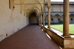 Basilica Santa Croce in Florence, Stock Photography