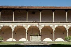 basilica Santa Croce in Florence, Stock Image