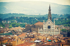 Basilica Santa Croce, Florence Royalty Free Stock Photography