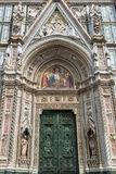 The Basilica of Santa Croce in Florence Royalty Free Stock Photos