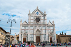 Basilica Santa Croce Stock Photography