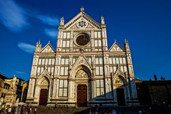 Basilica of Santa Croce in Florence. Italy royalty free stock image