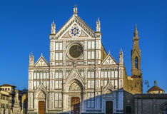 Basilica of Santa Croce, Florence, Italy Royalty Free Stock Images