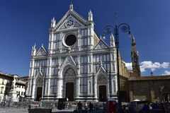 Basilica of Santa Croce in Florence, Italy Royalty Free Stock Photos