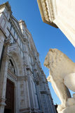 Basilica of Santa Croce in Florence, Italy, Europe Royalty Free Stock Photos