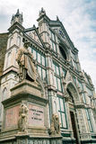 The Basilica of Santa Croce in Florence, Italy Royalty Free Stock Photography