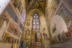 Basilica of Santa Croce, Florence, Italy Royalty Free Stock Photography