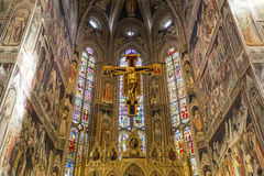 Basilica of Santa Croce, Florence, Italy Stock Photography