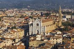 Basilica of Santa - Croce Royalty Free Stock Photography