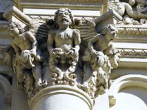 Basilica Santa Croce in Lecce in Italy Stock Photos