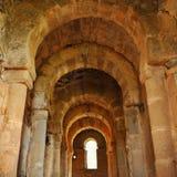 Basilica of Santa Lucia del Trampal in Alcuescar. Spain Stock Photos