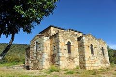 Basilica of Santa Lucia del Trampal in Alcuescar. Spain Royalty Free Stock Images