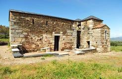 Basilica of Santa Lucia del Trampal in Alcuescar. Spain Stock Photography