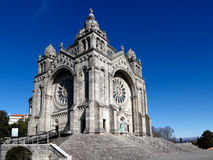 Basilica of Santa Luzia Royalty Free Stock Photography