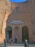 Basilica St Maria degli angeli stock photo