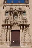 Basilica of Santa Maria in Alicante Royalty Free Stock Photography