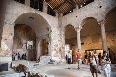 Basilica Santa Maria Antiqua Royalty Free Stock Photo