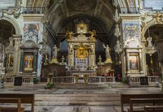 The Basilica of Santa Maria in Aracoeli, Rome, Italy.  Stock Photo