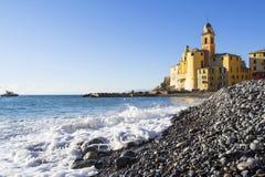Basilica of Santa Maria Assunta, Camogli Royalty Free Stock Photo