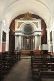 Basilica of Santa Maria-Castellón de Ampurias Royalty Free Stock Photo