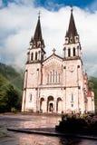 Basilica of Santa Maria, Covadonga, Asturias, Spain Stock Image