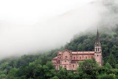 Basilica of Santa Maria, Covadonga, Asturias, Spain Stock Photos