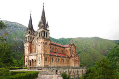 Basilica of Santa Maria in Covadonga. Royalty Free Stock Photography