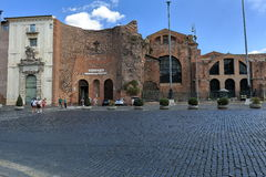 Basilica of Santa Maria degli Angeli e dei Martiri. Rome. Royalty Free Stock Photo