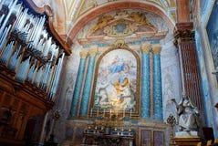 Basilica of Santa Maria degli Angeli e dei Martiri in Rome Royalty Free Stock Photo