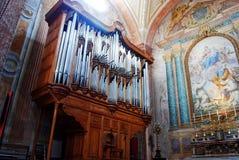 Basilica of Santa Maria degli Angeli e dei Martiri in Rome Stock Images