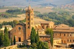 Basilica of Santa Maria dei Servi. (siena toscana italy Stock Photography