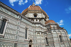 Basilica of Santa Maria del Fiore (Basilica of Saint Mary of the Flower) in Florence, Italy Stock Photos