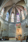 Basilica of Santa Maria del Pi. Barcelona, Spain. Royalty Free Stock Image