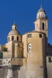 Basilica Santa Maria dell'Assunta in Camogli Stock Image