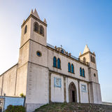 Basilica Santa Maria della Neve in Sardinian Cuglieri Stock Photo