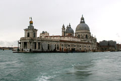 The basilica of Santa Maria della Salute. Royalty Free Stock Photos