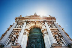 Basilica Santa Maria della Salute Church, Venice, Italy Stock Photos