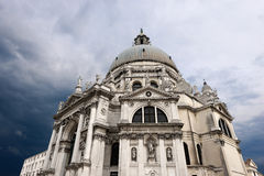 Basilica Santa Maria della Salute - Venezia Italy Stock Photography