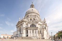 Basilica Santa Maria della Salute in Venice Royalty Free Stock Photography