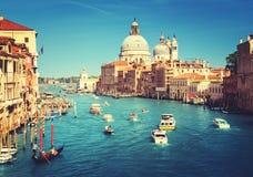 Basilica Santa Maria della Salute, Venice, Italy. Europa stock photo