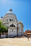 Basilica Santa Maria della Salute in Venice, Italy Stock Photo