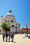 Basilica Santa Maria della Salute in Venice, Italy Royalty Free Stock Photos
