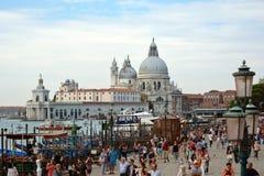 Basilica Santa Maria della Salute in Venice - Italy. Royalty Free Stock Images