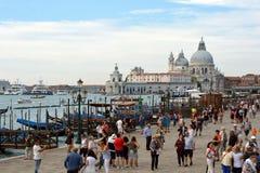 Basilica Santa Maria della Salute in Venice - Italy. Royalty Free Stock Photos