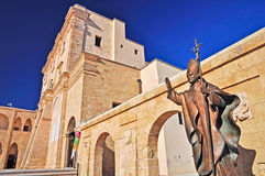 Basilica of Santa Maria di Leuca Stock Images