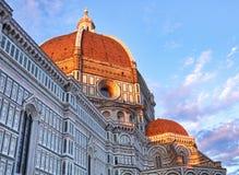Basilica Santa Maria, Florence. Basilica Santa Maria at sunset in Florence, Italy Royalty Free Stock Image