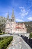 Basilica of Santa Maria la Real of Covadonga Stock Images