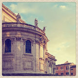 Basilica Santa Maria Maggiore Royalty Free Stock Photo